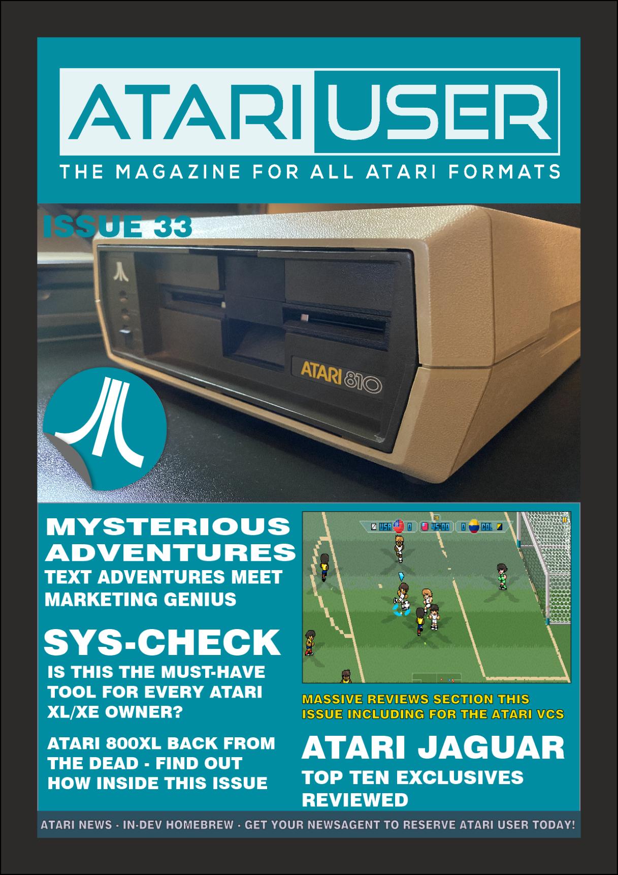 Atari User Magazine Issue 33