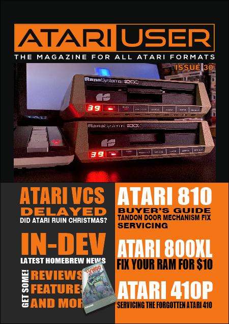 Atari User Magazine Issue 30